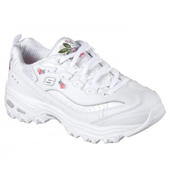 Skechers Women's D'LITES-BRIGHT BLOSSOMS