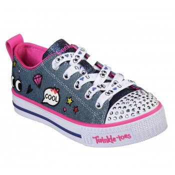 Skechers KID'S TWINKLE LITE-PATCH POP