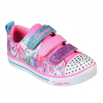 Skechers GIRL'S SPARKLE LITE-RAINBOW BRIGHTS