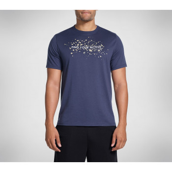Skechers MEN'S FIND YOUR ACTIVE TEE