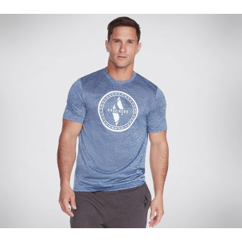 Skechers MEN'S DIAMOND CIRCLE TECH TEE