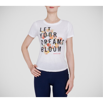 Skechers WOMEN'S BLOOMING DREAMS TEE