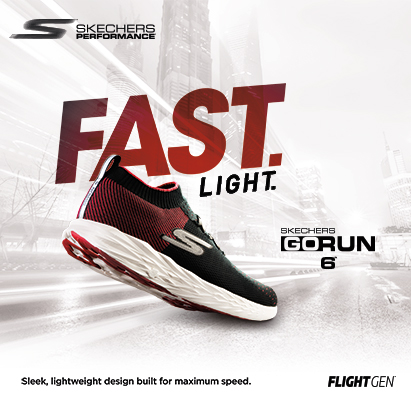 Skechers Men's Performance GO RUN 6 Shoes